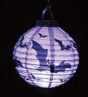 Cheap Halloween lantern Best LED paper lantern