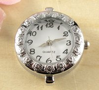 watch face for beading - Hot Fashionable New Arrive Quartz Silver Tone Watch Faces For Beading w02