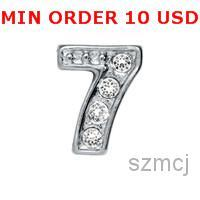 number charms - NUMBER charms for memor lockets