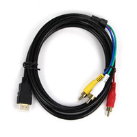 hdmi to rca cable - 1 m HDMI HD AV cable HDMI to RCA turn audio cable adapter cable factory direct