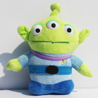 PVC alien videos - Toy Story Mini Plush Toy Little Green Alien Plush Toy Dolls Xmas Gifts For Children CM