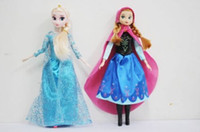 baby sparkles doll - DHL Frozen Elsa Anna Sparkle Princess Dolls Figure Toys inch with Nice retail box package Baby Children toys