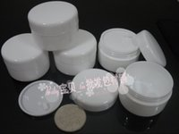 beauty product samples - 100pcs grams white PP Cosmetic Jar wholeslae ml plastic Sample Container G white beauty product packaging suppliers