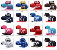 Wholesale top Hip hop brands Boy snapback hats BOY LONDON caps styles with