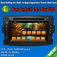 dual cd player - 100 Pure Android Car DVD Radio Dual Core GPS Navigation System for Renault Duster Logan Sandero with DVD CD MP3 player WiFi
