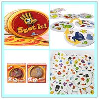 Wholesale Spot It Popular Christmas Toys Award winning game of visual perception for the whole family Popular Board Game