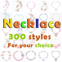 Wholesale Updating Fashion Necklaces Chunky Bubblegum Necklace Kids Bead Necklace DIY Gumball Beads Children Jewelry Accessories for Party Gifts