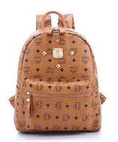Wholesale Handbags bags Fashion backpack School bag The new Handbags Rivet Backpack Travel bags School supplies Handbags