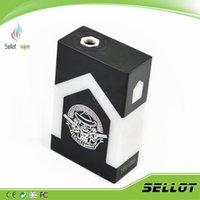 Castigador Mod Dual 18650 Batterie pleine Boîte mécanique Mod Castigador Delrin Clone parallèle 510 Fil e cigarette 22mm RDA Atomiseurs RBA DHL