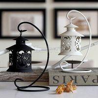 Wholesale 2015NEWIron Moroccan Style Candlestick Candleholder Candle Tea Light Holder Decor