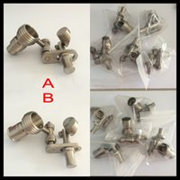 Wholesale Gr2 titanium smoking honey bucket with male female joint very polished and easy to clean