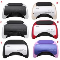 automatic timers - Professional W Nail Art Dryer Gel Curing UV Lamp Nail Dryer with Automatic Induction s s s timer