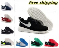 Wholesale 2015 Newest Roshe Run Men Women Running Shoes London Olympic Outdoor Walking Sneakers Shoes Eur