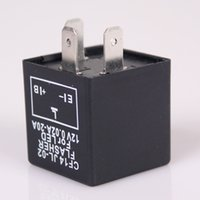 Wholesale Universal Auto Motorcycle Electronic LED Flasher Blinker Turn Signal Relay Fix Pin CF CARS0576