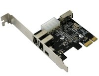 Wholesale PCI Firewire IEEE Port Card Firewire Card card VIA VT6315 chipset For Computer with FireWire Cable Superquality
