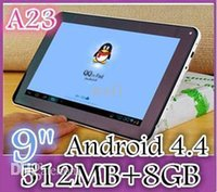Wholesale 30PCS CHEAP inch Dual camera core Android Tablet PC MB GB GHz Allwinner A23 Bluetooth Ebook Reader ZSD
