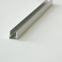 aluminum profiles for glass - 2015 led lighting For Inserting Tempered Glass Aluminum Profile x mShelf Light by DHL ALP036