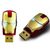 OEM marque réelle 2 Go 4 Go 8 Go 16 Go 32 Go 64 Go 128 Go 256 Go Ironman USB 2.0 lecteur flash Drive