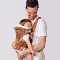 Wholesale Eco cotton front and back baby carriers popular printing baby sling best designer baby products