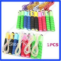 skipping rope with counter - Adjustable Skipping Jump Rope with Counter Number Fitness Exercise Workout Gym
