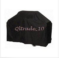 barbecue grill machine - 300pcs CCA3057 High Quality Brand Black Polyethylene Waterproof UV Protect Barbecue Cover Barbecue Grill Protector BBQ Cover