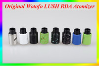 Wotofo Lush Atomiseur Rebuildable Authentique WOTOFO LUSH RDA Atomizer Réservoir coloré VS <b>Arctic Turbo Tank</b> arctique v8 kayfun v4