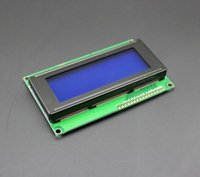 arduino display screen - hot sell New product LCD Board LCD X4 V Blue screen LCD2004 display LCD module LCD for arduino free shippi