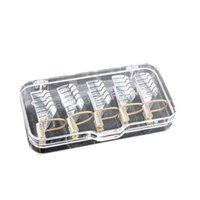 Wholesale 5pcs Nail Forms UV Gel Tool Acrylic French Tips Reusable Art B2C Shop