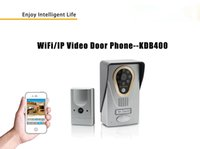Wholesale P2P Wireless WiFi Video Intercom Door Phone Unlock Remote Motion Sensor Video Recording Waterproof P Support Mobile Devices