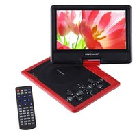 Wholesale DBPOWER quot Portable DVD Player with Swivel Screen Supports SD Card and USB Direct Play in Formats MP4 AVI RMVB MP3 JPEG