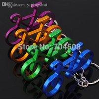 Cheap Wholesale-FD1145 Colorful Bike Bicycle Metal Keychain Keyring Keyfob Key Ring ~Random~ 1pc