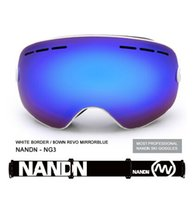 snowboard - NG3 Snowboard Ski Goggles Large spherical lens Professional Double dlayer Skiing Goggles