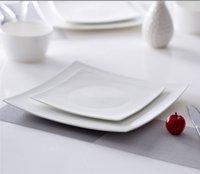 Wholesale Square Dessert Appetizer Plates White Porcelain quot Plate