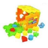 Wholesale 2014 New Year s Toys Plastic Model Building Kits Shapes Blocks Educational Toys For Children Years Christmas Present HA0013