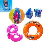 Wholesale Swimming float Swimming ring set