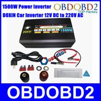 Wholesale 2015 Newly W UPS Car Power Inverter Battery Charger A V DC TO V AC Uninterruptible Power Source W DHL Free