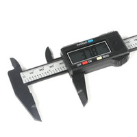 Wholesale 150mm inch Micrometer LCD Electronic Digital Gauge Stainless Vernier Caliper new arrival