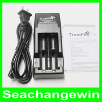 Wholesale Trust fire Trustfire tr battery li ion charger Double Charger Universal Rechargeable Battery Charger AAAA quality
