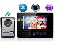 Wholesale Motion Detection Wireless Video Door Phone Intercom Doorbell Camera DVR