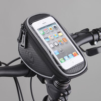 mtb bicycle frame - Roswheel L Waterproof Mountain Road MTB Bike Bicycle Front Top Frame Handlebar Bag Cycling Pouch for quot inch Cellphone Phone