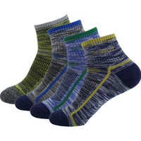 Wholesale Cotton Skateboard Sports Socks Men Women Boat Socks Outdoor Running Cycling Socks D332L