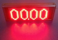 Wholesale Large lattice LED display frame V10A DC energy monitor power meter watt Voltage current low price for outdoor trade fair