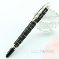 Wholesale StarWalker monte grid pattern pen limited edition roller ball pens diamond on top