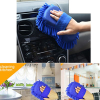 Wholesale Hot Sale High Quality Car Cleaning Product Microfiber super clean Cloth Car brushes Cleaning Sponge Cloth Towel Wash Gloves Supp