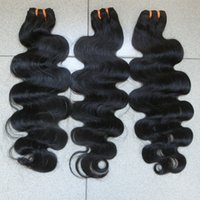 eurasian hair - Indian Hair Cheap A Peruvian Brazilian Malaysian Eurasian Hair Extension Virgin Hair Body Wave Hair Weft inch
