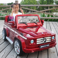 ride on - Benz G55 Stoving Varnish G Remote Control Electric Car For Kids Ride On Battery Great Children s Electric Auto For Kids