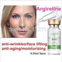 Wholesale Argireline liquid six peptides serum for striae Anti Wrinkle Cream anti aging collagen rejuvenating face lift skin care oz