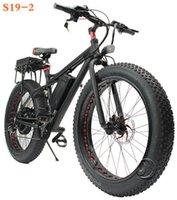 Wholesale Electric bicycle V W al alloy fat tire km long range snow electric bikes