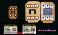 Wholesale Original RSim R SIM R SIM Nano Cloud Unlock Card For IOS x x x x AUTO Unlock Iphone S S C Plus AU Verizon T MOBILE