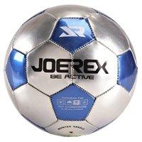 Wholesale Mesuca Sport Super K Metallic Shining PVC Machine Sewn Soccer Ball JS02 Four for Any Whether